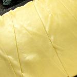 Формовочное отделение:  раскатка теста на цилиндрах линии печенья