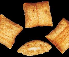 Подушечки «Бамбук»  со сливочной начинкой. (Гофратара-3 кг)